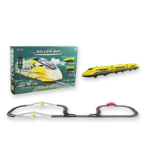 SILVER WAY Battery Operated Speedy Train Set