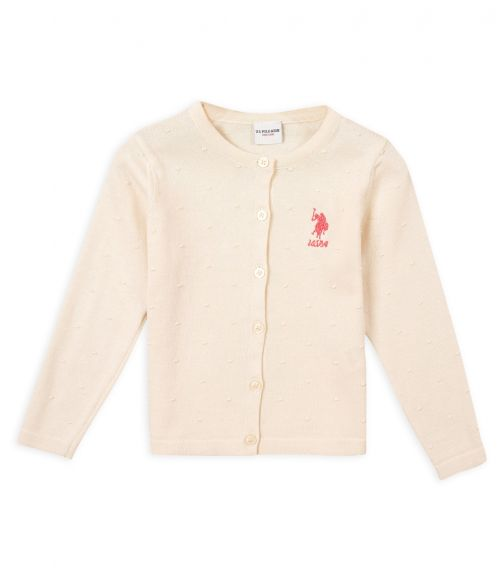 US POLO ASSN. - Cardigan Off White