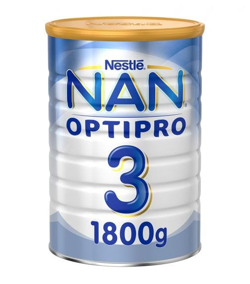 NESTLE Nan Optipro Stage 3 From 1 To 3 Year, 1800G