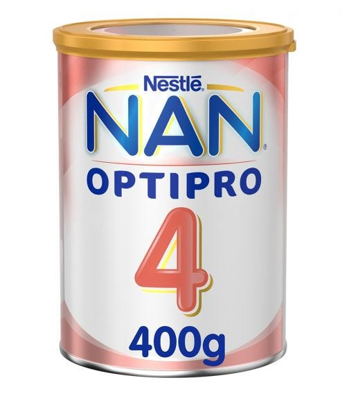 NESTLE Nan Optipro Stage 4 From 3 To 6 Year, 400G