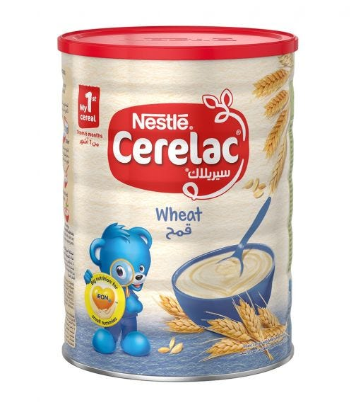NESTLE Cerelac Infant Cereals With Iron And Wheat From 6 Months
