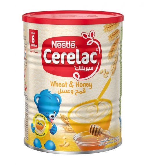 NESTLE Cerelac Infant Cereals With Iron And Wheat & Honey