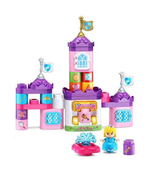 LEAP FROG Block Play Shapes Music Castle