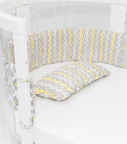 BABYHOOD Amani Bebe Cot Bumper Pillow Set