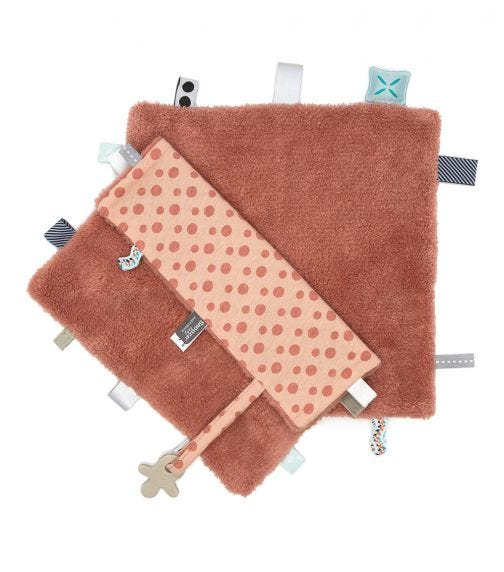 SNOOZEBABY Snooze Comfort Labels Sweet Dreaming Dusty Rose
