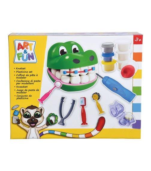 SIMBA ART & FUN Dough Set Crocodile Dentist