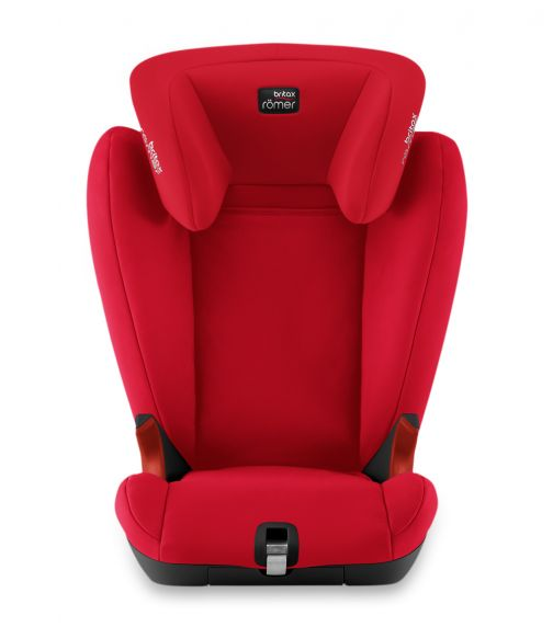 BRITAX Romer Kidfix SlL BR From 3.5 Years - 12 Years Fire Red