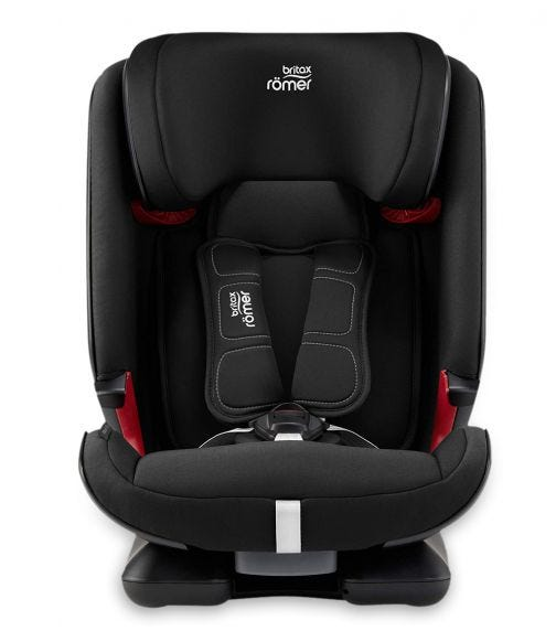 BRITAX Romer Advansafix IV M Baby Car Seat From 9 Months - 12 Years Cosmos Black