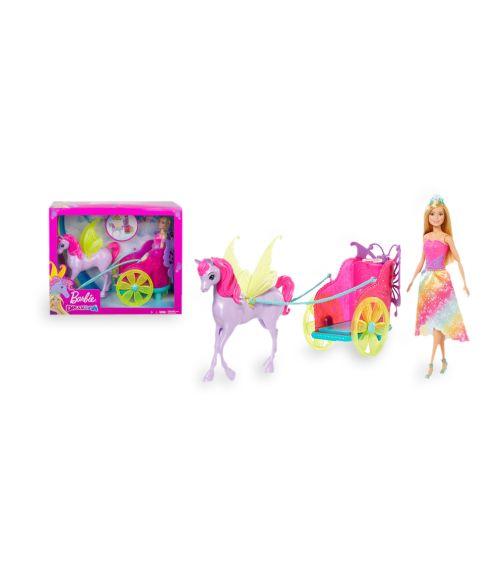BARBIE Dreamtopia Princess Pegasus And Chariot