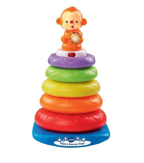 VTECH Stack And Discover Rings