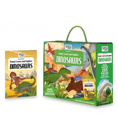 SASSI Travel Learn And Explore Dinosaurs