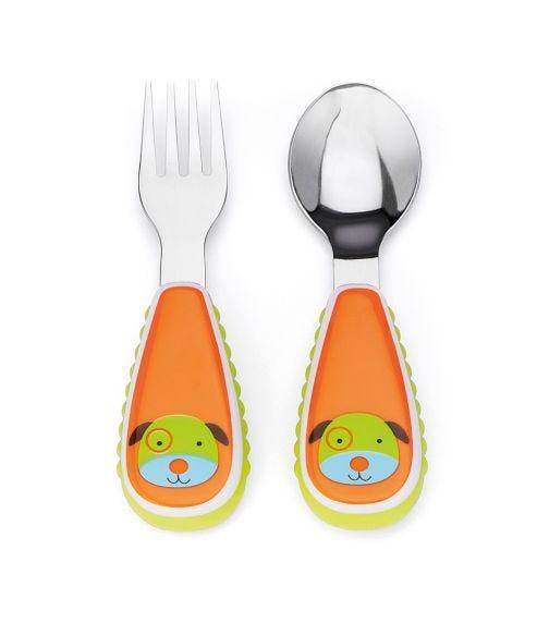 SKIP HOP Zootensils Fork & Spoon Dog