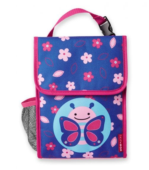 SKIP HOP Zoo Lunch Bag Butterfly