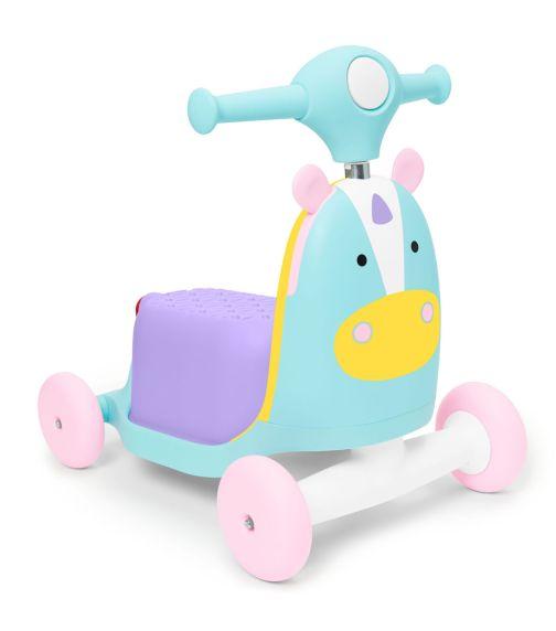 SKIP HOP Zoo Ride-On Toy Unicorn