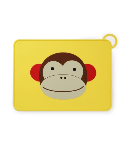 SKIP HOP Zoo Silicone Placemat Monkey