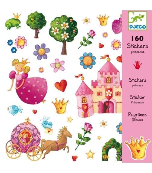 DJECO Princess Marguerite - Stickers