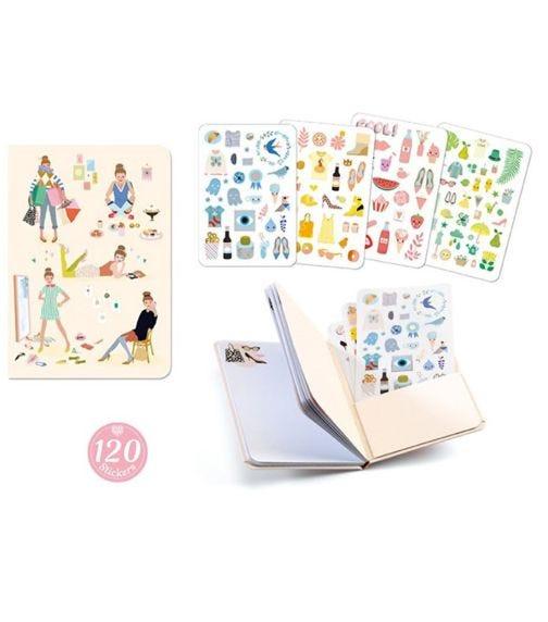 DJECO Stickers Notebooks - Tinou