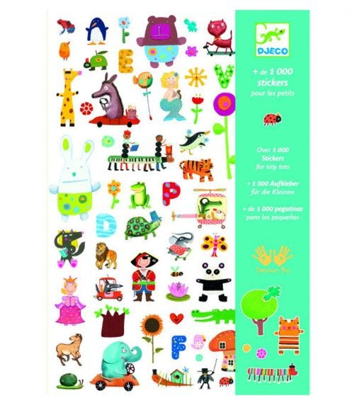 DJECO Stickers For Little Ones