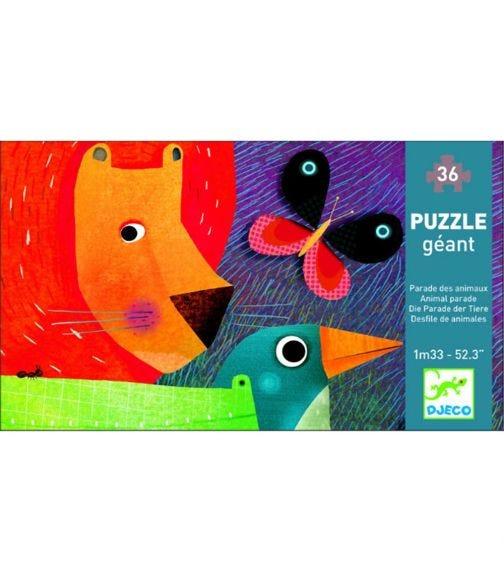 DJECO Animal Parade Puzzle - 36 Pieces