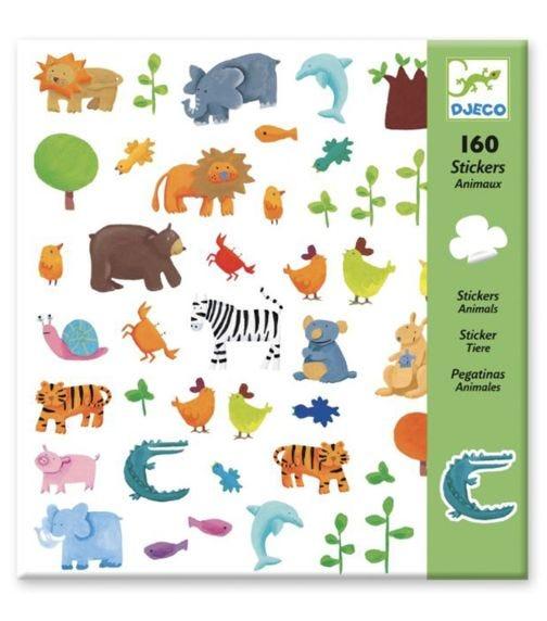 DJECO Animals Stickers