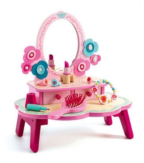 DJECO Role Play - Flora Dressing Table