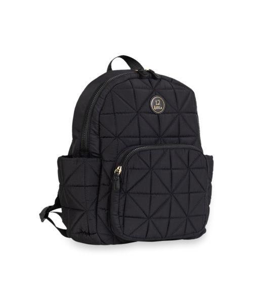 TWELVELITTLE Kids Companion Backpack School Bag Black