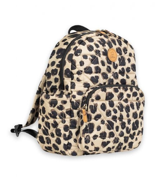 TWELVELITTLE Kids Companion Backpack School Bag Leopard