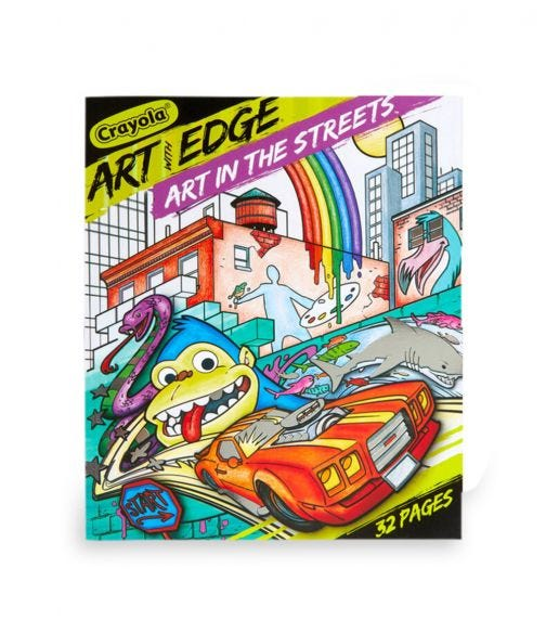 CRAYOLA Art With Edge Art In The Streets