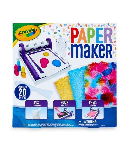 CRAYOLA Maker Machines Paper Kit