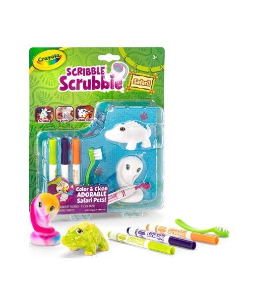 CRAYOLA Scribble Scrubbie Set - Crocodile & Cobra