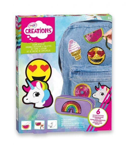 CRAYOLA Creations Sequin Patch Kit