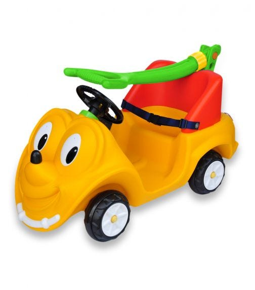 CHING CHING Bebe Push Car-Foldable Handle With Seat Belt