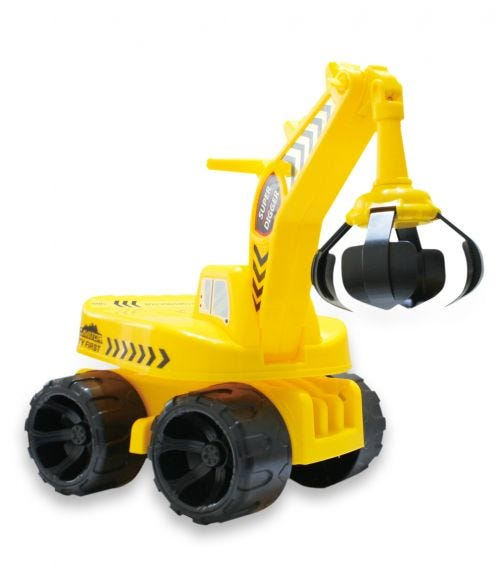 CHING CHING 2 In 1 Kid's Ride-On Excavator