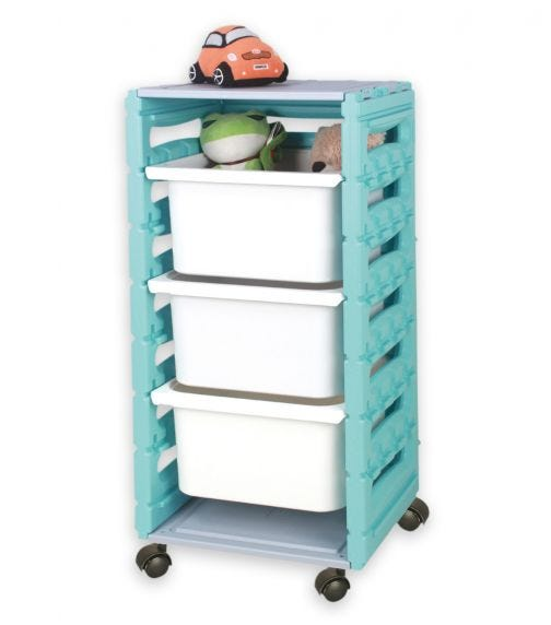 CHING CHING 3 Drawers Cabinet With Castors
