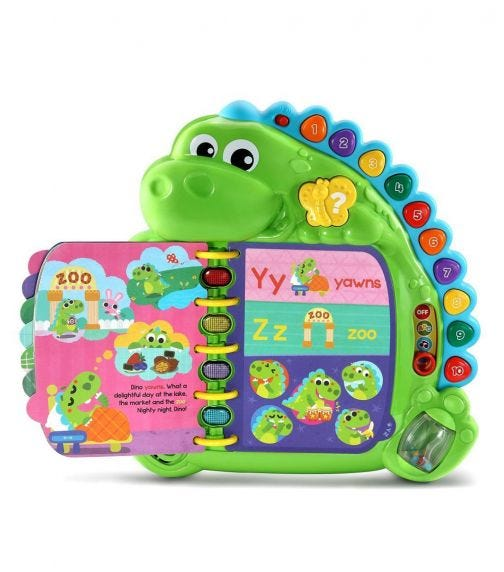 LEAP FROG Dinos Delightful Day Book