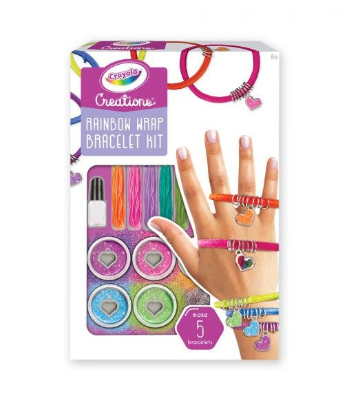 CRAYOLA Creations Rainbow Bracelets Set