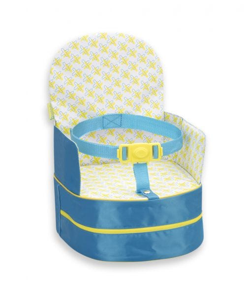 BADABULLE Travel Booster Seat 2 In 1 Blue