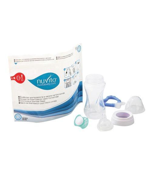Nuvita BPA Free Microwave Sterilizer Bag