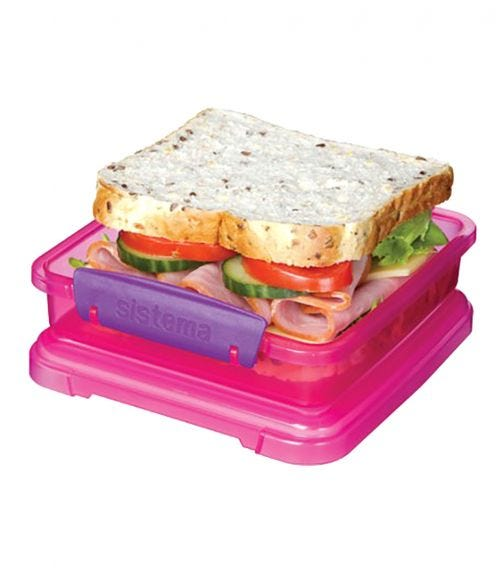 SISTEMA Sandwich Rectangular Boxes (3 Pack)