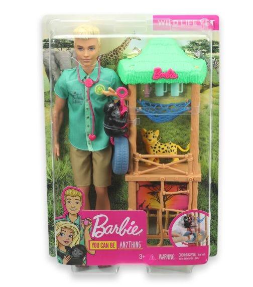 BARBIE Ken Career Doll Playset Asst