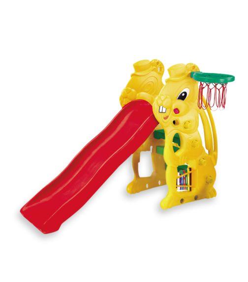 CHING CHING Rabbit Slide + Basketball Set (137cm)