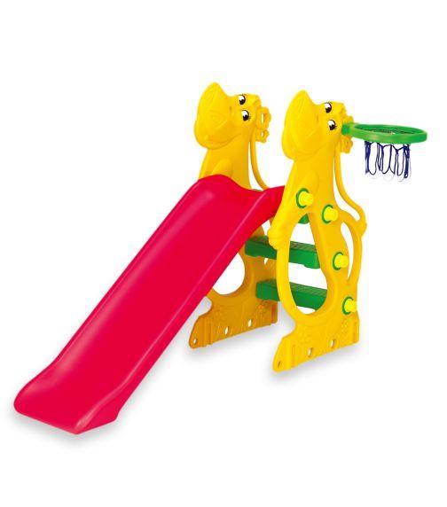 CHING CHING Hippo Slide + Basketball Set (137cm)