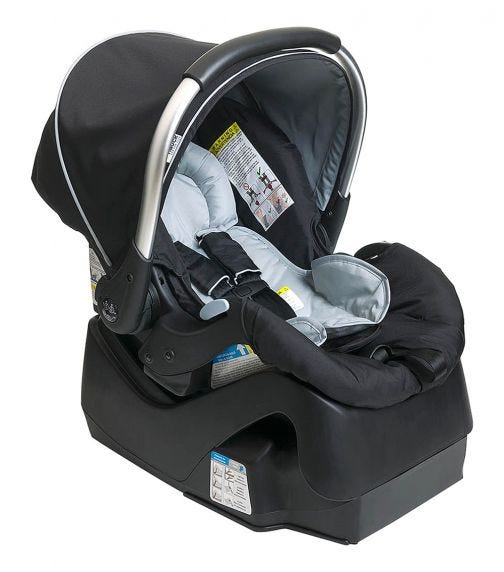 HAUCK Prosafe 35 Car Seat With Base Black