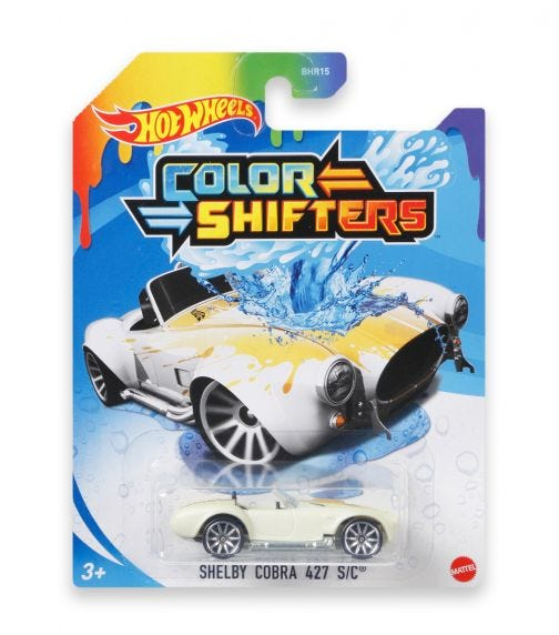 HOT WHEELS City Basic Cars Color Shifters 164