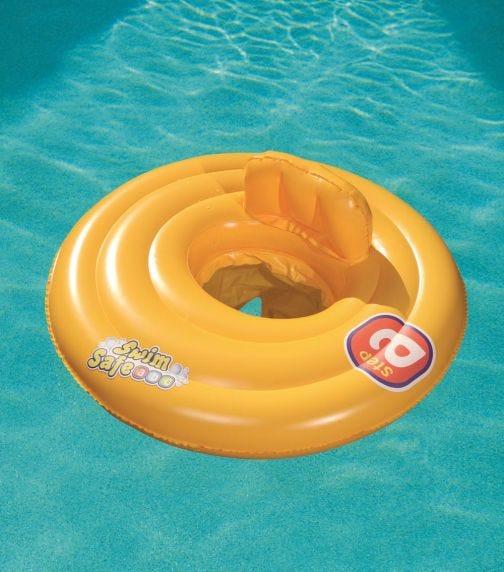 BESTWAY Swim Safe Baby Seat Triple Ring 69cm