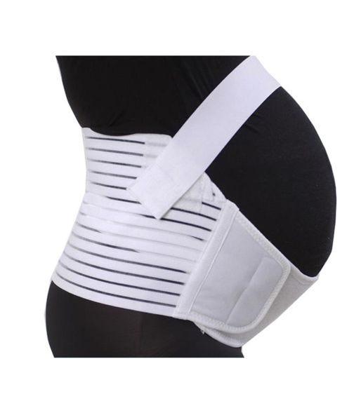 SUNVENO Pregnancy Support Belt - White - Large