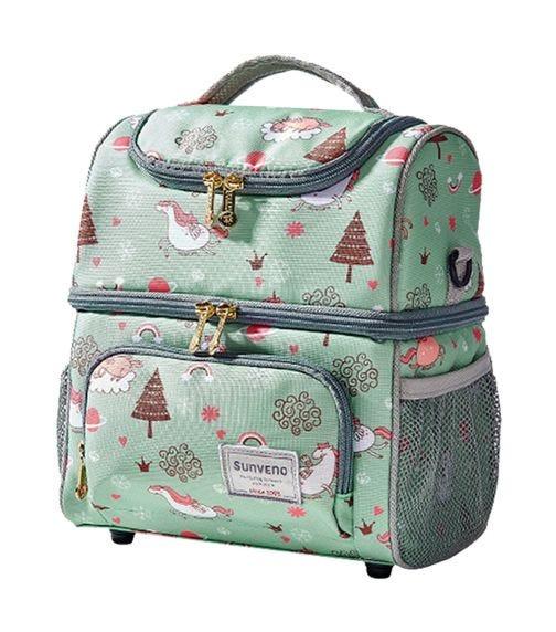 SUNVENO Insulated Multipurpose Bag - Green Dreams