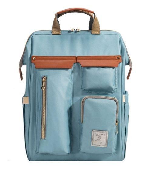 SUNVENO Stella Fashion Diaper Bag - Blue