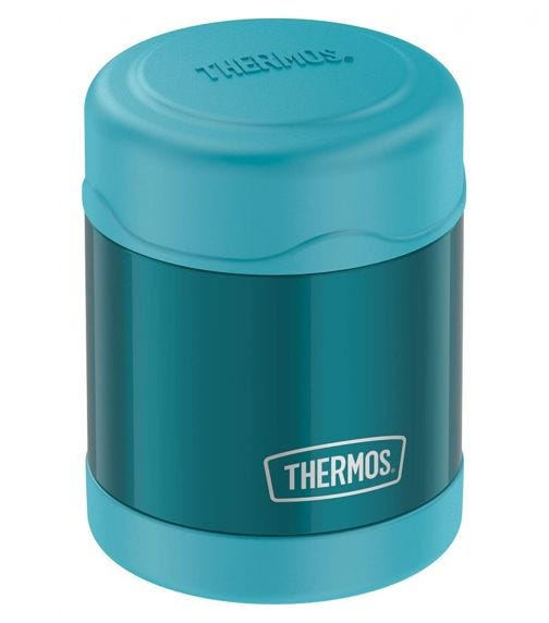 THERMOS Funtainer Stainless Steel Food Jar -Teal -290 ML