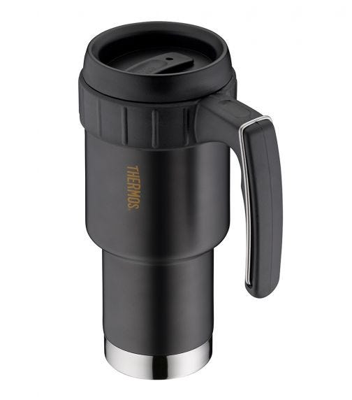 THERMOS   Double Wall Stainless Steel Insulated Mug  With Handle 590 ML, Anthracite